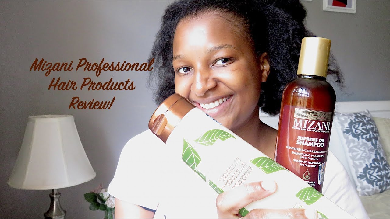 Mizani Professional Hair Products Review Featuring Posh Palace Kenya Natural Hair Youtube