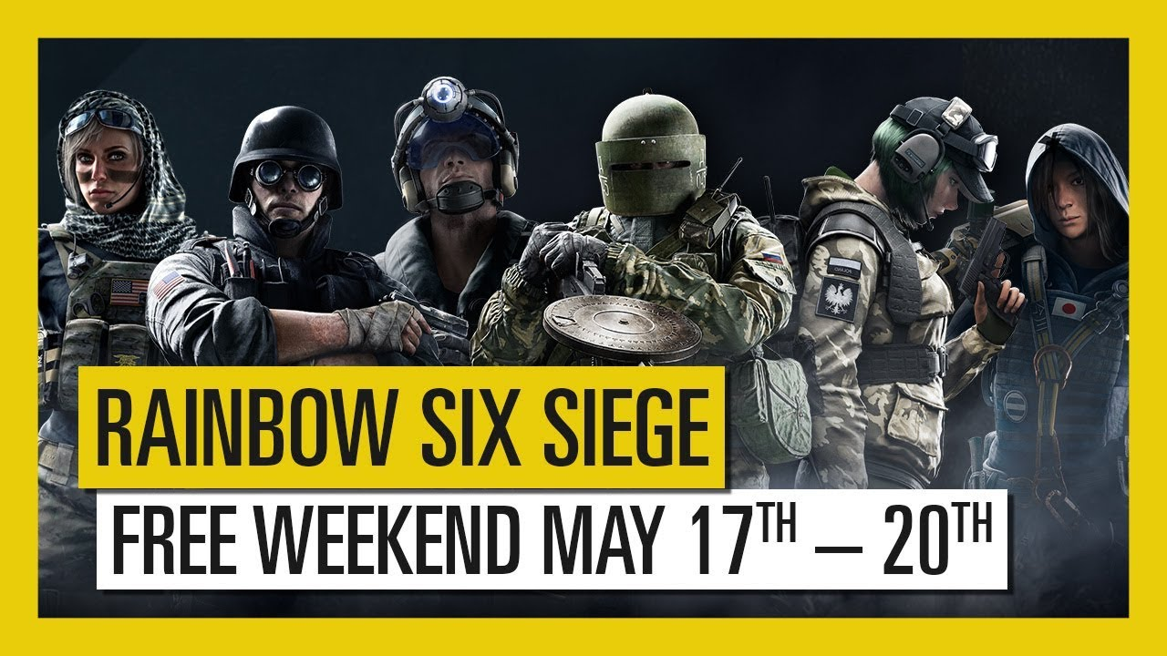 Tom Clancy's Rainbow Six Siege – Play For Free May 17th to 20th !