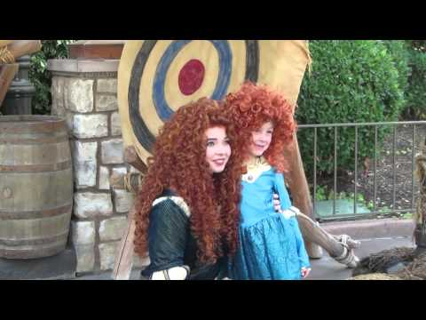 Disney Princess Merida from Brave at Disneyland