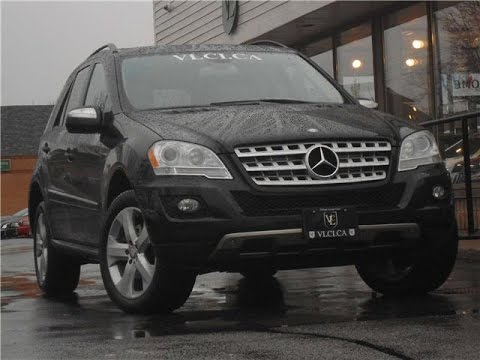 2010 Mercedes Benz Ml320 Bluetec In Review Village Luxury Cars Toronto