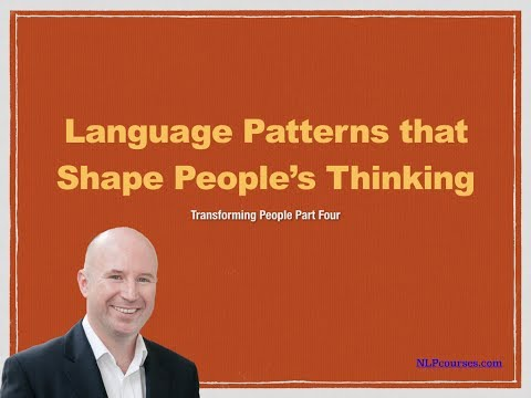 Language Patterns that Shape People's Thinking