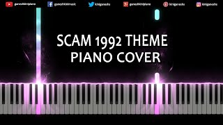 Scam 1992 Theme Song | Piano Cover Chords Instrumental By Ganesh Kini