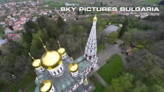 България от високо, Руската църква в Шипка