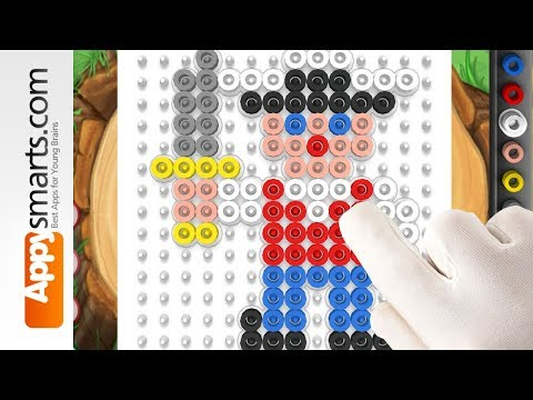 Pirates - a free beads puzzle game for kids by Hama - iPad/iPhone/Android