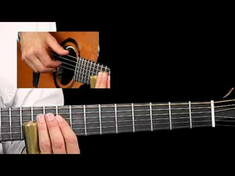 Acoustic Slide Guide - #7 Open C Breakdown - Guitar Lessons - Richard Gilewitz