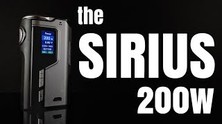 SIRIUS MOD REVIEW - 200w for under 60 quid!