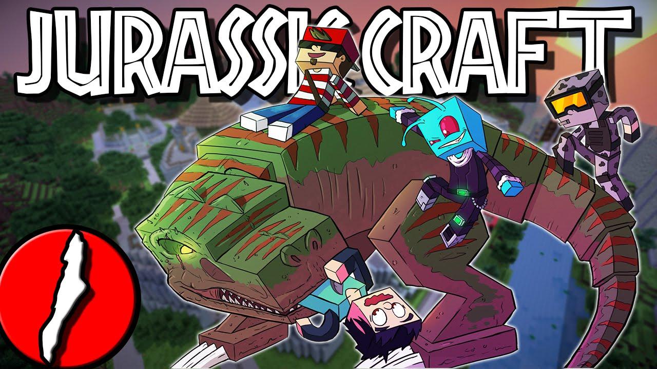 Minecraft: Dinosaurs! Jurassic Craft Let's Play w ...