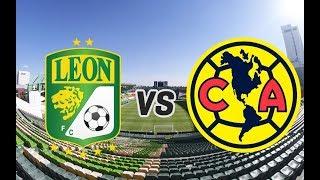 leon vs america ao vivo semifinal - vuelta