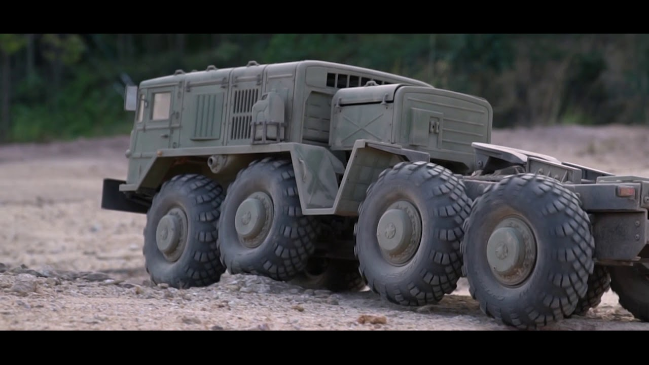 Cross RC BC8 Mammoth 1/12 Scale 8x8 Off Road Military Truck Kit