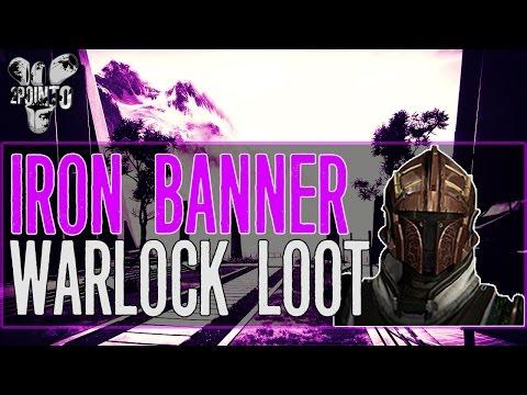 """Destiny: Iron Banner Warlock Rank 5 Loot – """"Iron Banner Packages"""" Destiny Iron Banner Event Loot"""