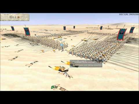 Rome Total War Online Battle #2034: Four Player Free-For-All (scored resolution)