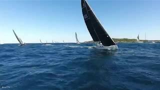Les Voiles De Saint Tropez En Drone Régate 07 10 2017 DJI PH 4 4k