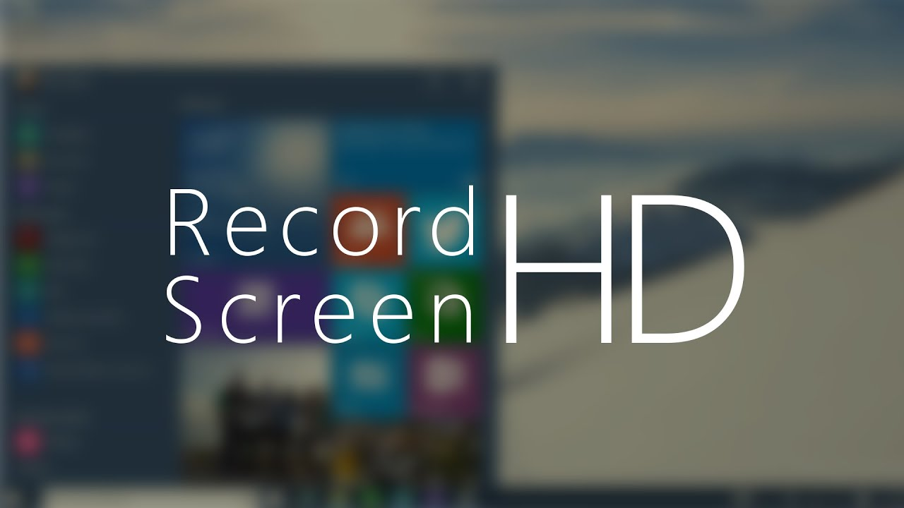 how to record screen on windows