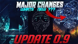 UPDATE 0.9 ALL MAJOR CHANGES EXPLAINED IN HINDI, PUBG MOBILE