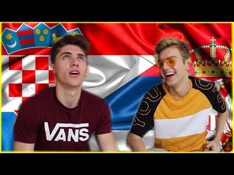 HRVATSKI VS SRPSKI (Language Challenge) /w Andrija Jo