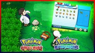 Pokemon OmegaRuby & AlphaSapphire - How to Get All Starter Pokemons