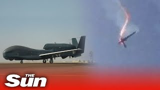 Iran shoots down U.S. military drone in Gulf region