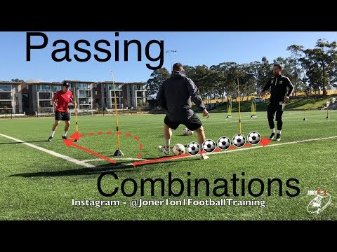 Loads Of Passing & 1st Touch Combinations - Joner 1on1