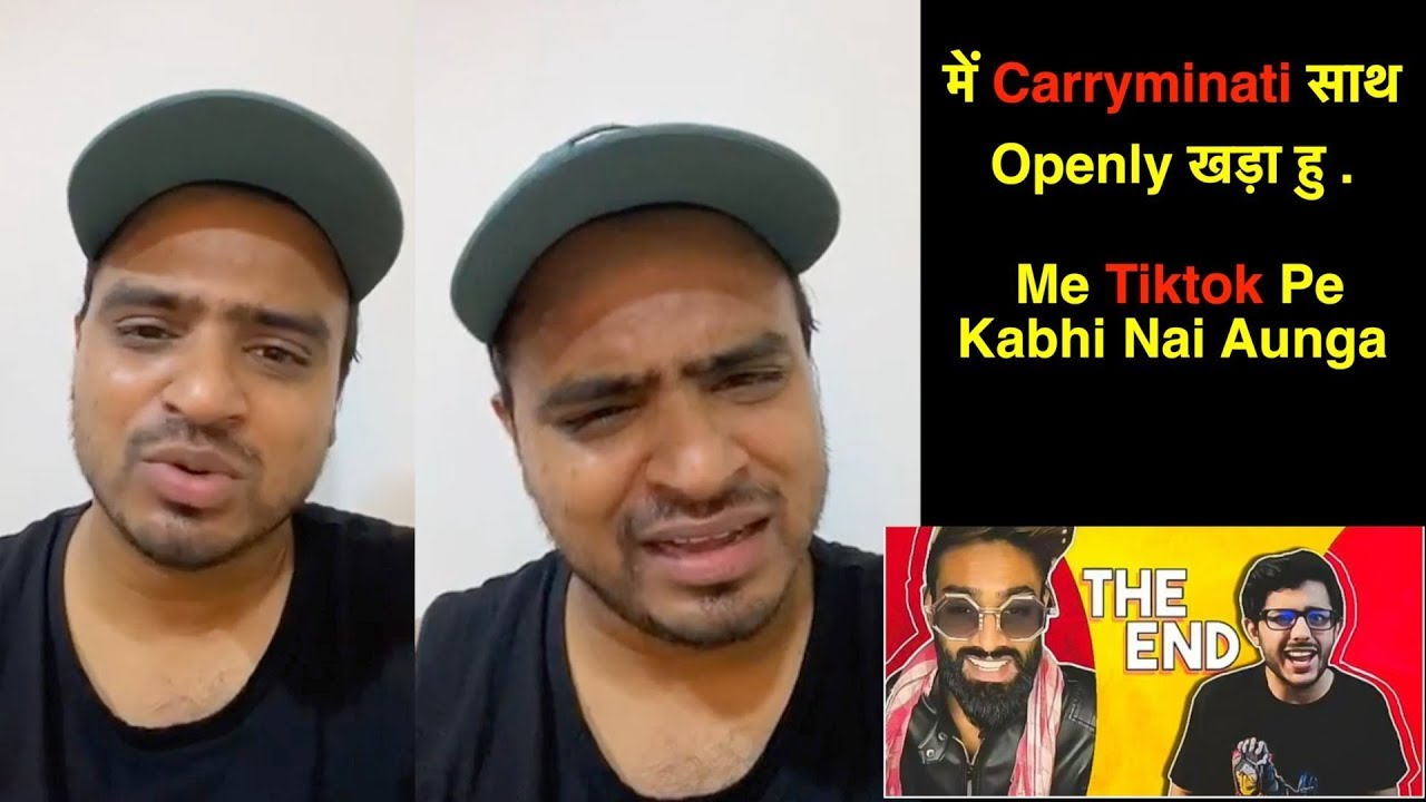 Amit Badhana OPENLY Support For CarryMinati | Carry को धमकी भी मिली थी | React On Carry's DELT
