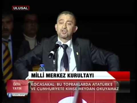 İstanbul Barosu Başkanı Ümit Kocasakal'ın konuşması