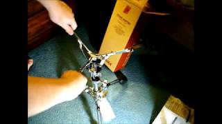 TAMA Stage Master Double Braced Low Profile Snare / Tom Stand HS40LOW Unboxing