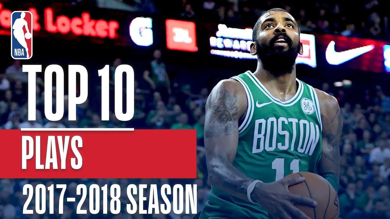 Top 10 Plays: 2018 NBA Season