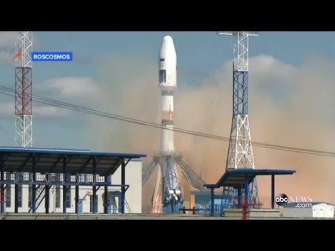Russia Launches First Rocket From Spaceport to Vladimir Putin