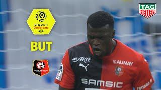 But Mbaye NIANG (19') / Olympique de Marseille - Stade Rennais FC (1-1)  (OM-SRFC)/ 2019-20