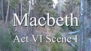Macbeth Act 6 Scene 1