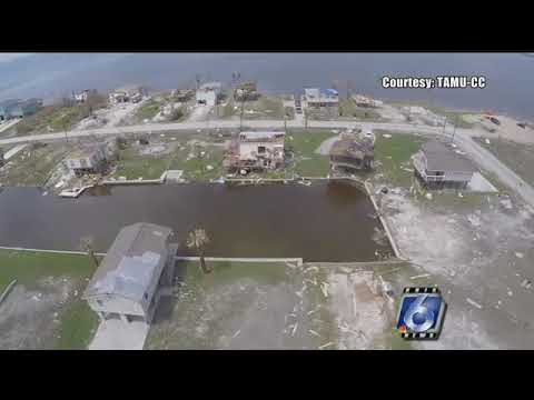 Drones used to assess hurricane damage