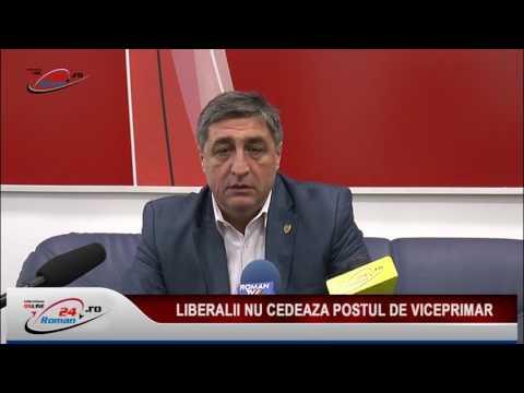 LIBERALII NU CEDEAZA POSTUL DE VICEPRIMAR