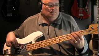 Into The Great Wide Open Tom Petty & The Heart Breakers Bass Cover with Notes & Tablature