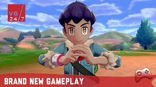 Pokemon Sword & Shield: 10 Minutes of Brand New Gameplay