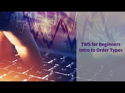 Short Video - TWS for Beginners - Intro to Order Types