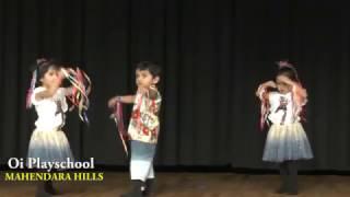 Oi Playschool Mahendra Hills -- Little Stars Day #Annualday 2017 - Part 1