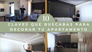 TENDENCIAS 2021 I Decoración de Interiores Apartamentos Pequeños