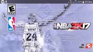 NBA 2K14 Modded 2K17 (Kobe Edition)