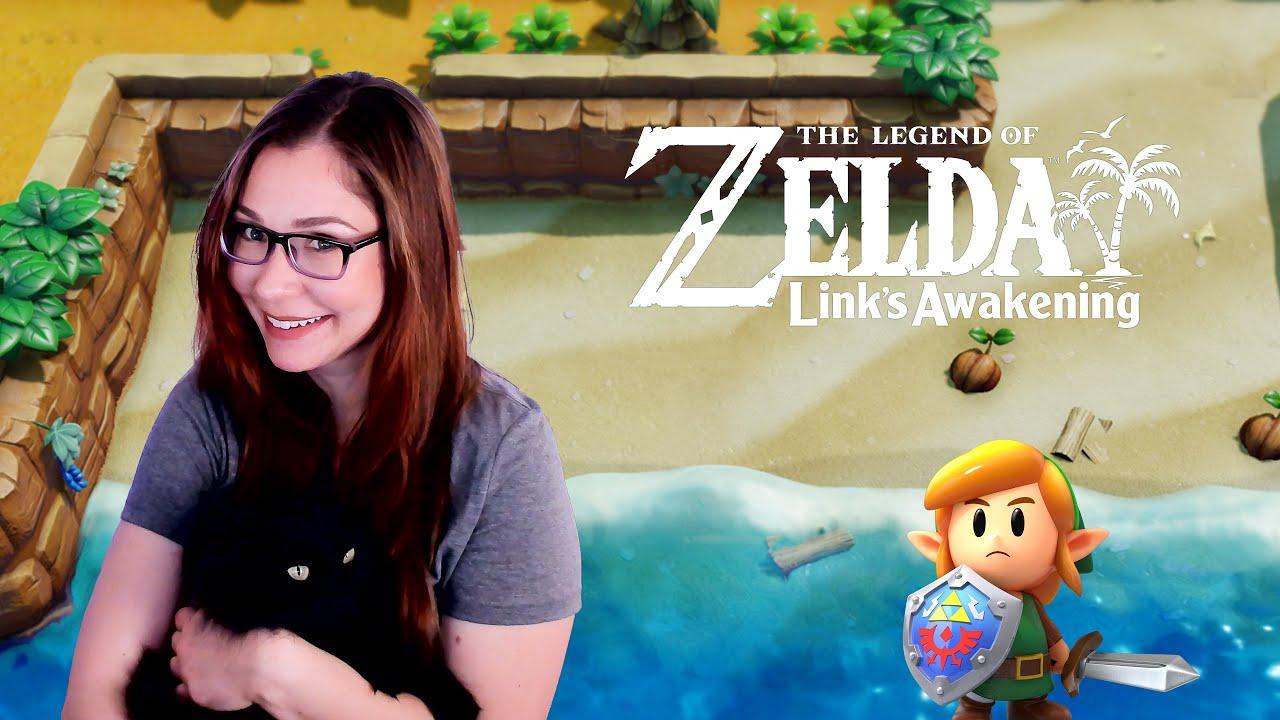 Playing Zelda: Links Awakening on Switch