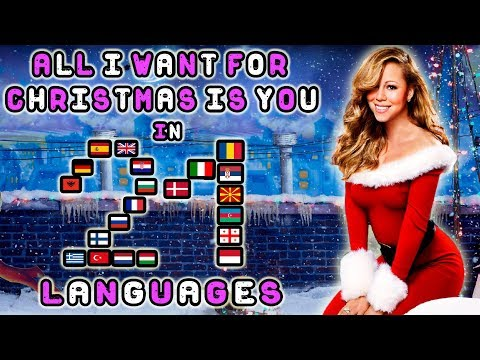Singing All I Want For Christmas Is You In 21 Languages With Zero Singing Skills