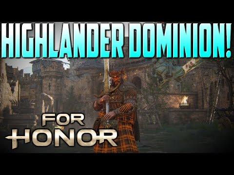 [For Honor] Highlander 4v4 Dominion!