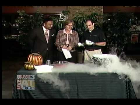 Halloween Effects Using Dry Ice, Brought To You By NexAir