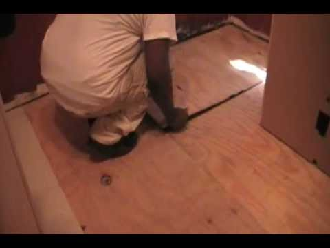 How-To prepare a floor for ceramic tile ( PART 2 )