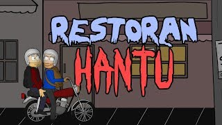 Makan Di Restoran Hantu | Animasi Horor Kartun Lucu | Warganet Life