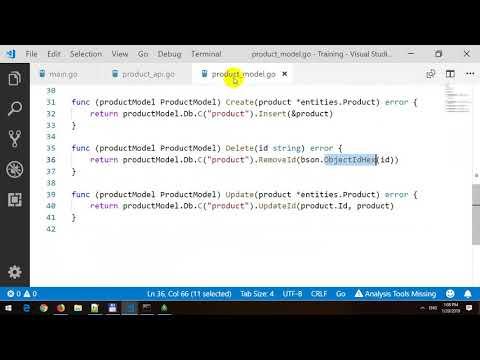 Golang RESTful API Nikkies Tutorials