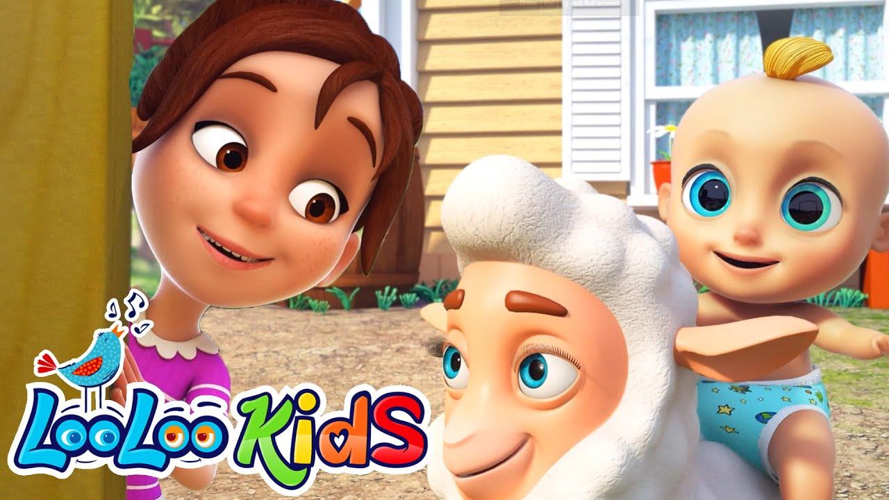 Little Bo Peep 🐑 | LooLoo KIDS Nursery Rhymes and Children`s Songs