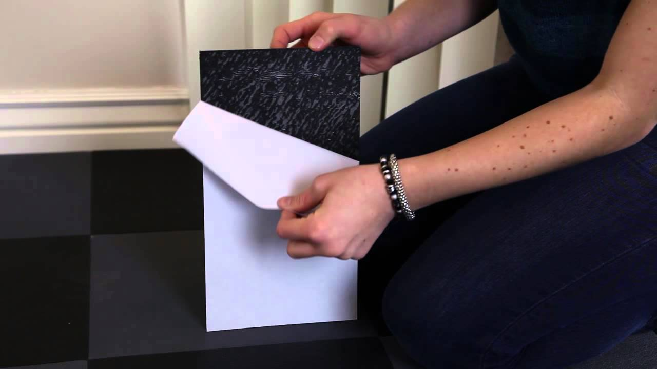 how to install peel and stick vinyl tile flooring