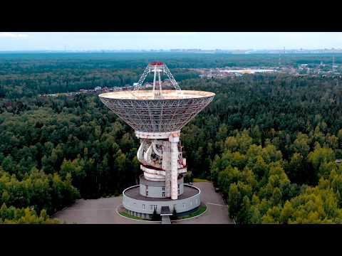 Центр Космической связи около Звездного городка  4К видео