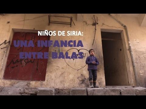 Niños de Siria: una infancia entre balas - Especial en RT