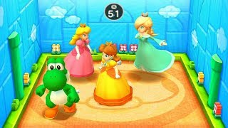 Princess Daisy Vs Rosalina Vs Princess Peach Vs Yoshi Mario Party The Top 100 | MiniGames