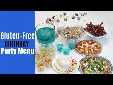 Easy Kids' Birthday Party Menu | Gluten-Free, Nut-Free